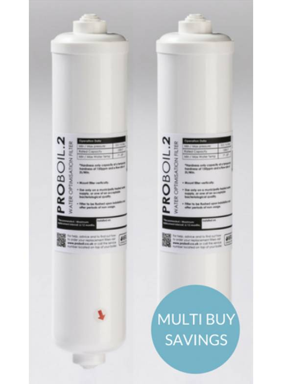 Image of product Pronteau 3 IN 1 Replacement Filter Cartridges -PROBOIL2 (Twin Pack)
