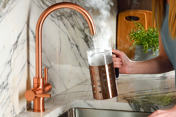 Experience Pronteau 3 IN 1 Steaming Hot Water Tap
