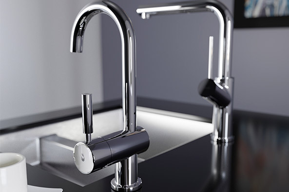 Pro Uno & Pro Duo 98 Degree Hot Water Tap